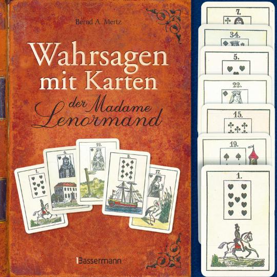 Wahrsagen mit Karten der Madame Lenormand - Set mit 36 Lenormandkarten