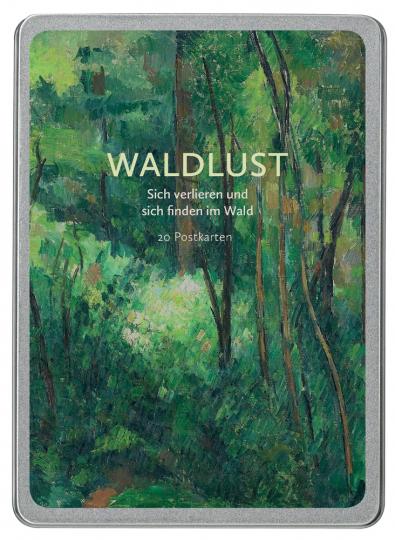 Waldlust. Sich verlieren und sich finden im Wald. Postkarten.