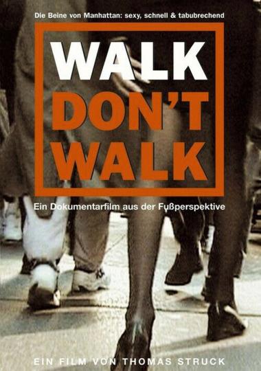 Walk don't walk DVD