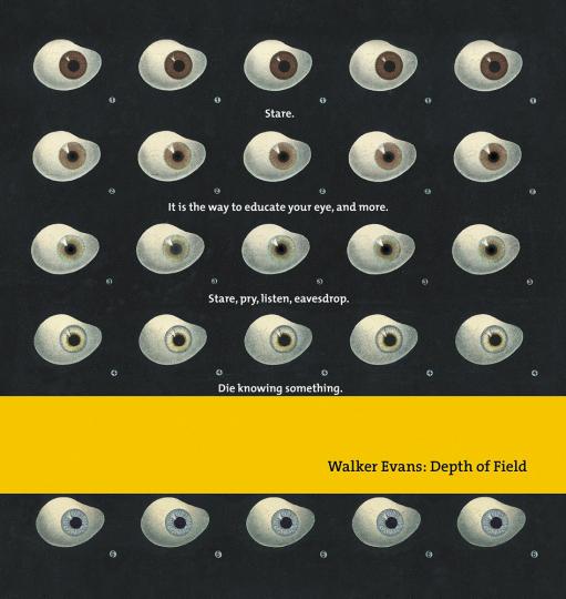 Walker Evans. Depth of Field.