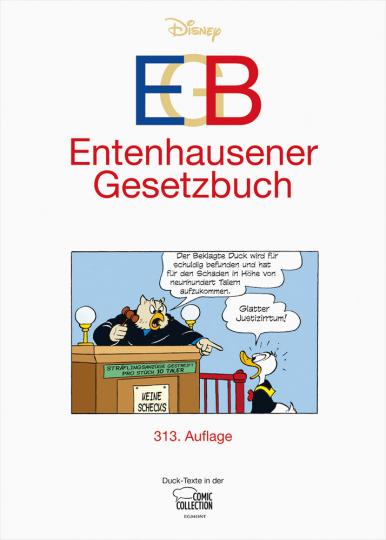 Walt Disney. EGB - Entenhausener Gesetzbuch.