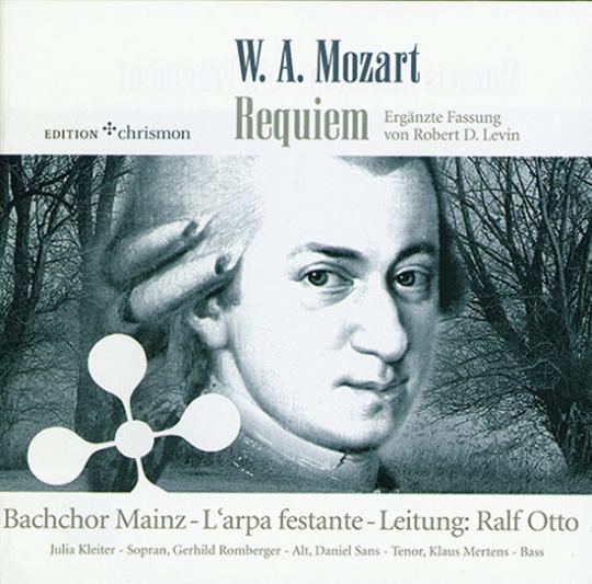 W. A. Mozart. Requiem. CD.