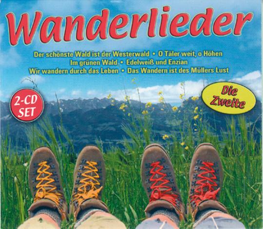 Wanderlieder - Die Zweite 2 CDs