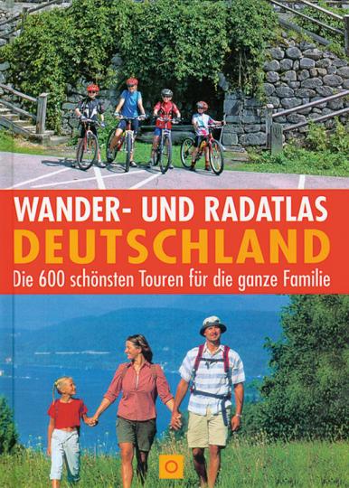 Wander- und Radatlas Deutschland.