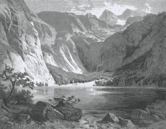 Wanderungen im Bayerischen Gebirge und Salzkammergut. Reprint.