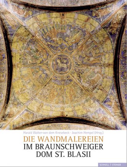 Wandmalereien im Braunschweiger Dom St. Blasii.