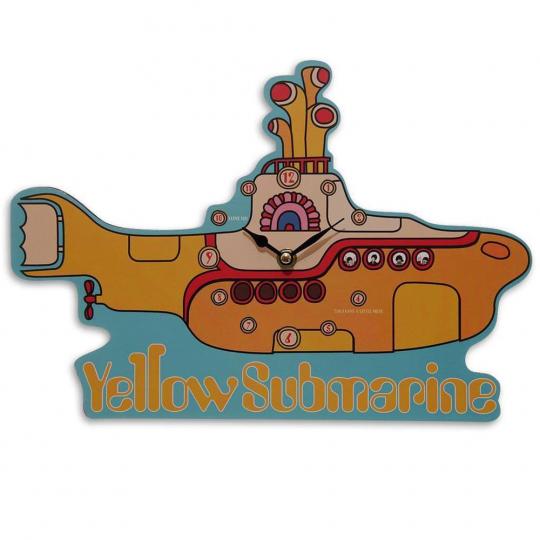Wanduhr »The Beatles - Yellow Submarine«.
