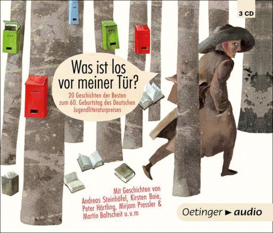 Was ist los vor meiner Tür? 20 Geschichten der Besten zum 60. Geburtstag des Deutschen Jugendliteraturpreises.