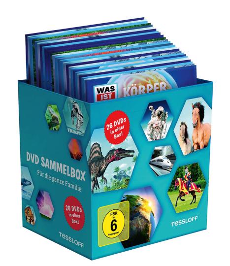 Was ist was: Sammelbox. 26 DVDs.