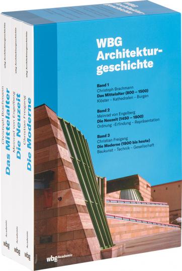 WBG Architekturgeschichte. 3 Bände.