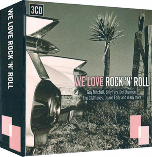 We love Rock 'n' Roll 3 CDs