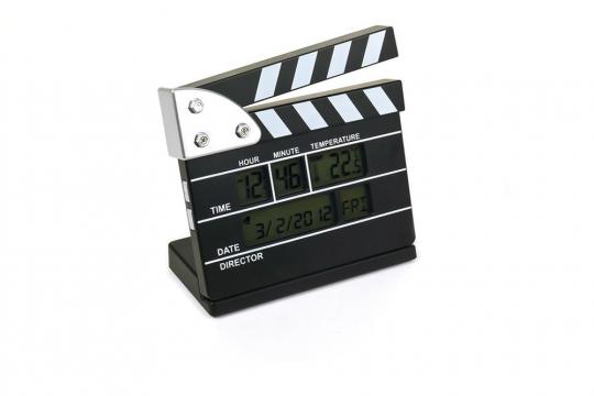 Wecker »Filmklappe«.