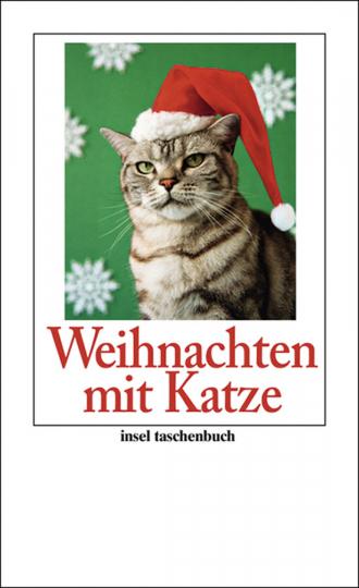 Weihnachten mit Katze.