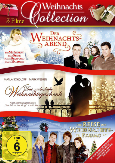 Weihnachts Collection. 3 DVDs.