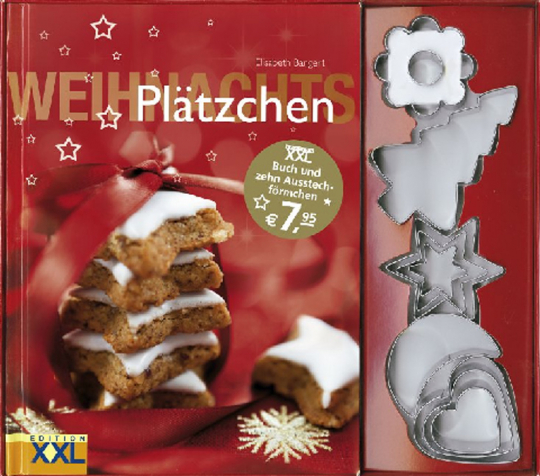 Weihnachtsplätzchen mit 10 Förmchen
