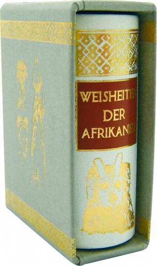 Weisheiten der Afrikaner - Leder-Mini-Ausgabe im Schmuckschuber