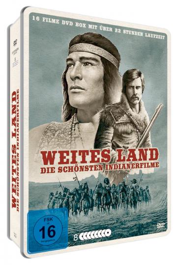 Weites Land - Die schönsten Indianerfilme 8 DVDs