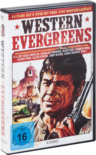 Western-Evergreen Box. 8 DVDs.