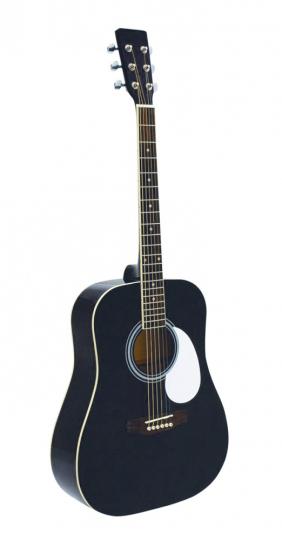 Western Gitarre mit Koffer - Dimavery Western Set