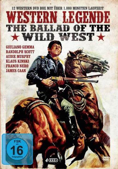 Western Legende. 4 DVD.