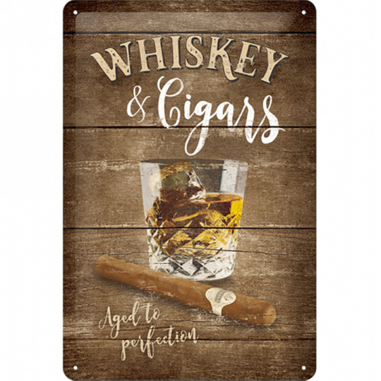 Whiskey and Cigars 20*30