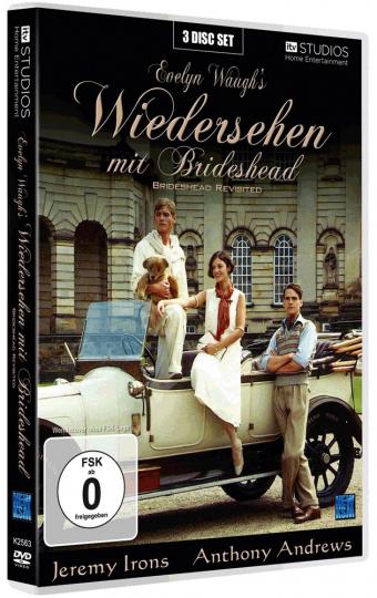 Wiedersehen mit Brideshead. 3 DVDs.