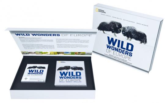 Wild Wonders Of Europe. Hardcover-Buch und 2-DVD-Box.