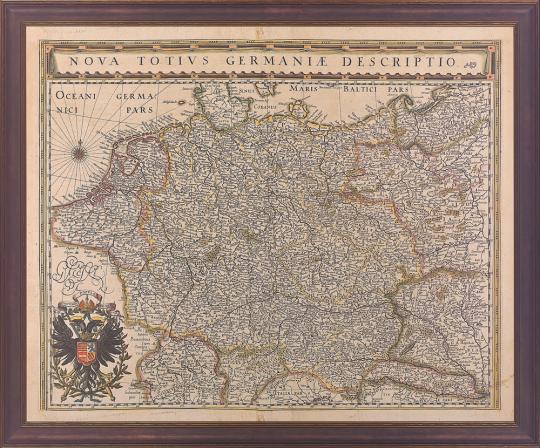 Willem und Joan Bleau. »Nova Totius Germaniæ Descriptio« (1635).