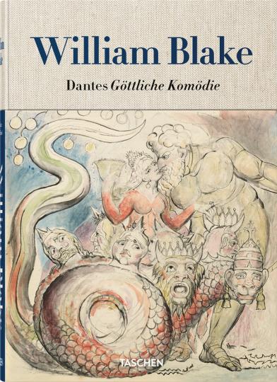 William Blake. Dantes Göttliche Komödie. Sämtliche Zeichnungen.