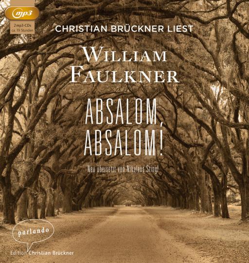 William Faulkner. Absalom, Absalom! 2 MP3-CDs.