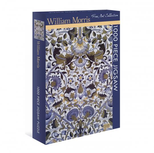 Kunst-Puzzle William Morris. »Wandle Chintz«.