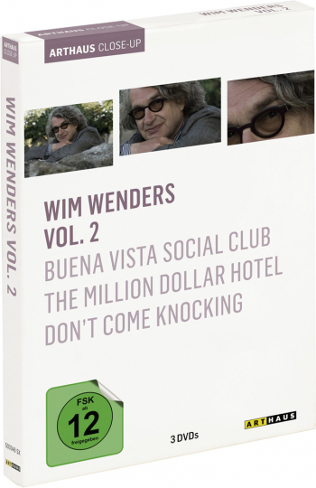 Wim Wenders Vol. 2. Buena Vista Social Club, The Million Dollar Hotel, Dont't come knocking. 3 DVDs.