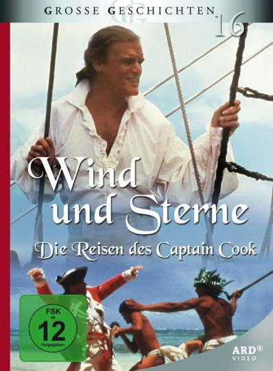 Wind und Sterne Die Reisen des Captain Cook 2 DVDs