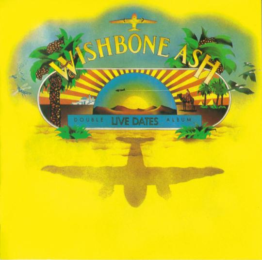 Wishbone Ash. Live Dates. CD.