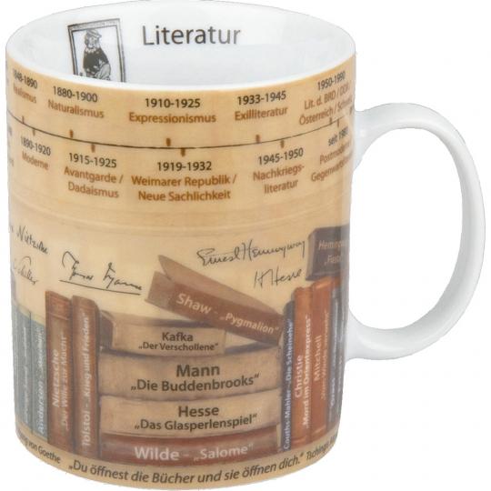 Wissensbecher »Literatur«.