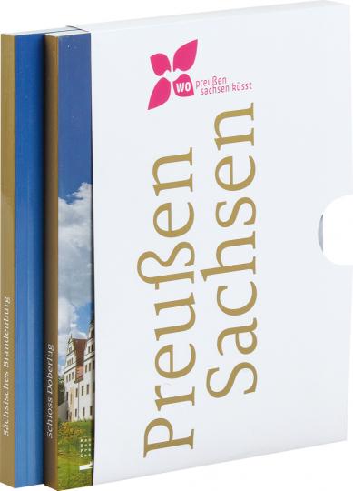 Wo Preußen Sachsen küsst. Sächsisches Brandenburg & Schloss Doberlug. 2 Bände.