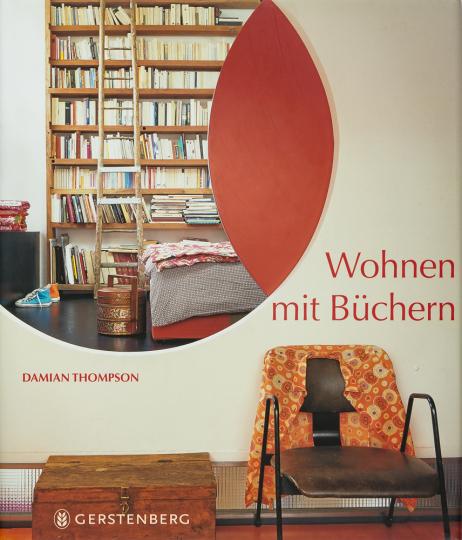 Wohnen mit Büchern.