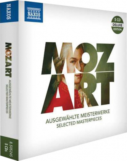 Wolfgang Amadeus Mozart. Ausgewählte Meisterwerke. 5 CDs.