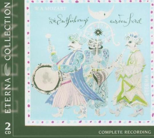 Wolfgang Amadeus Mozart. Die Entführung aus dem Serail. 2 CDs.