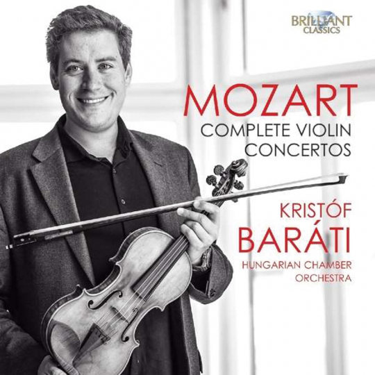 Wolfgang Amadeus Mozart. Violinkonzerte Nr.1-5. 2 CDs.