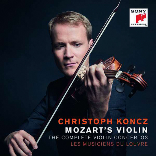 Wolfgang Amadeus Mozart. Violinkonzerte Nr.1-5. Mozart's Violin. 2 CDs.