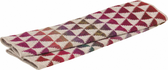 Wollstulpen »Klee«, natur.