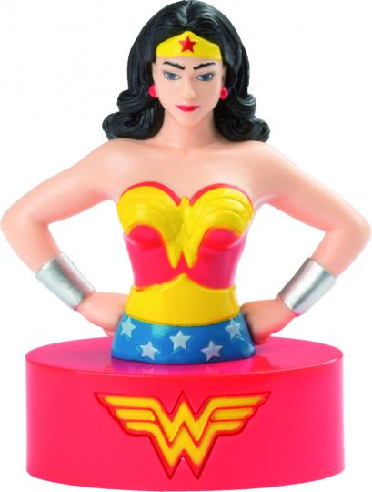 Wonder Woman. Sprechende Figur und Booklet.