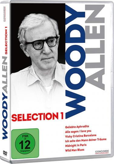 Woody Allen Selection 1. 6 DVDs.