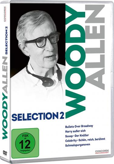Woody Allen Selection 2. 5 DVDs.