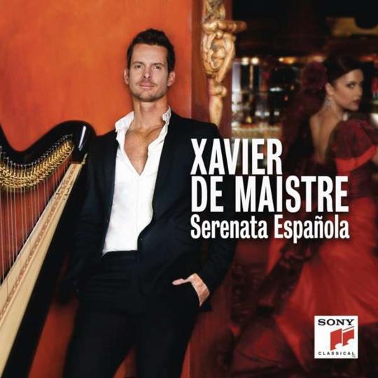 Xavier de Maistre. Serenata Espanola. Werke von Soler, Albeniz, Granados. CD.