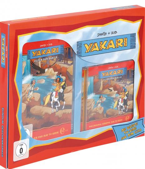 Yakari. Hüter der Quelle. DVD & CD Geschenkbox.