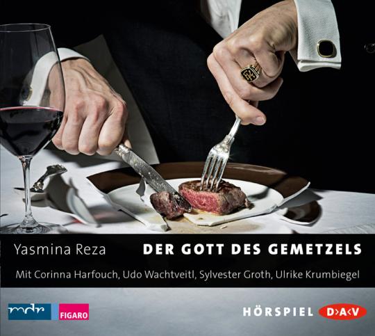 Yasmina Reza. Der Gott des Gemetzels. Hörspiel. CD.