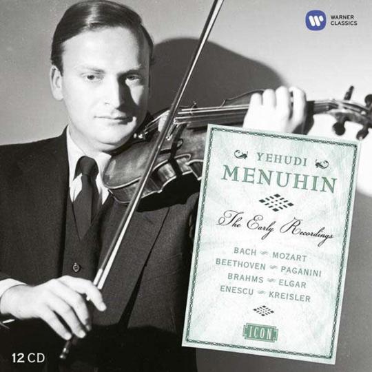 Yehudi Menuhin. Early Years (Icon Series). 12 CDs.