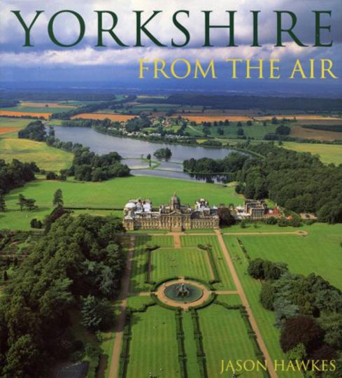 Yorkshire From The Air. Yorkshire aus der Luft betrachtet.
